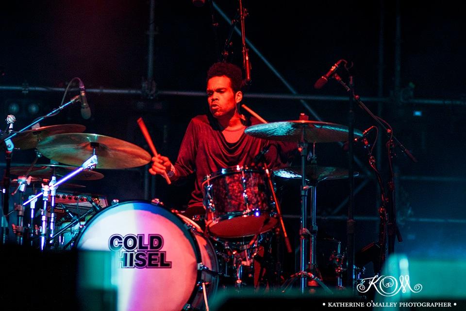 Charley Drayton/Cold Chisel @ Decades Festival. © katherine o'malley, 2015