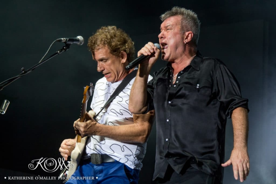 Jimmy Barnes & Ian Moss/Cold Chisel @ Decades Festival. © katherine o'malley, 2015