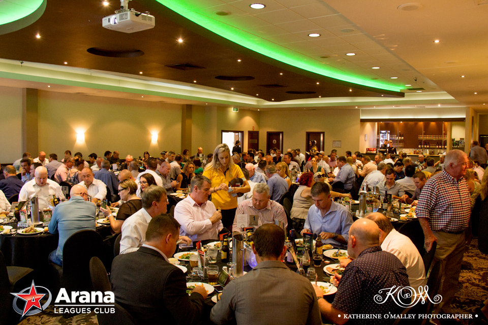 Sportsman's Lunch @ Arana Leagues Club © katherine o'malley, 2016