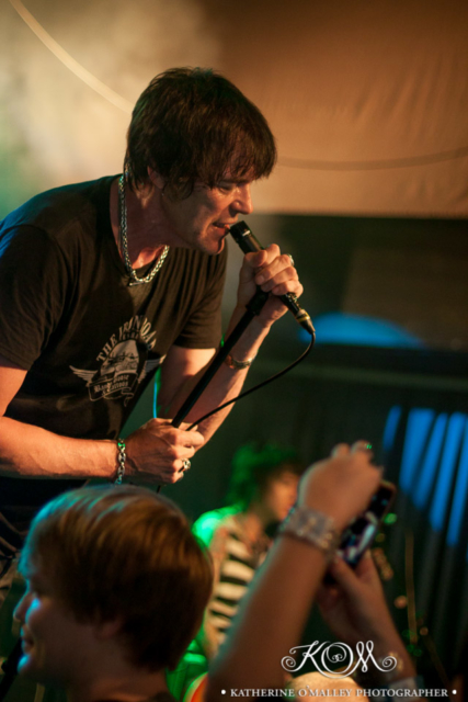 Richie Ramone @ Woolly Mammoth, Brisbane.  © katherine o'malley, 2017
