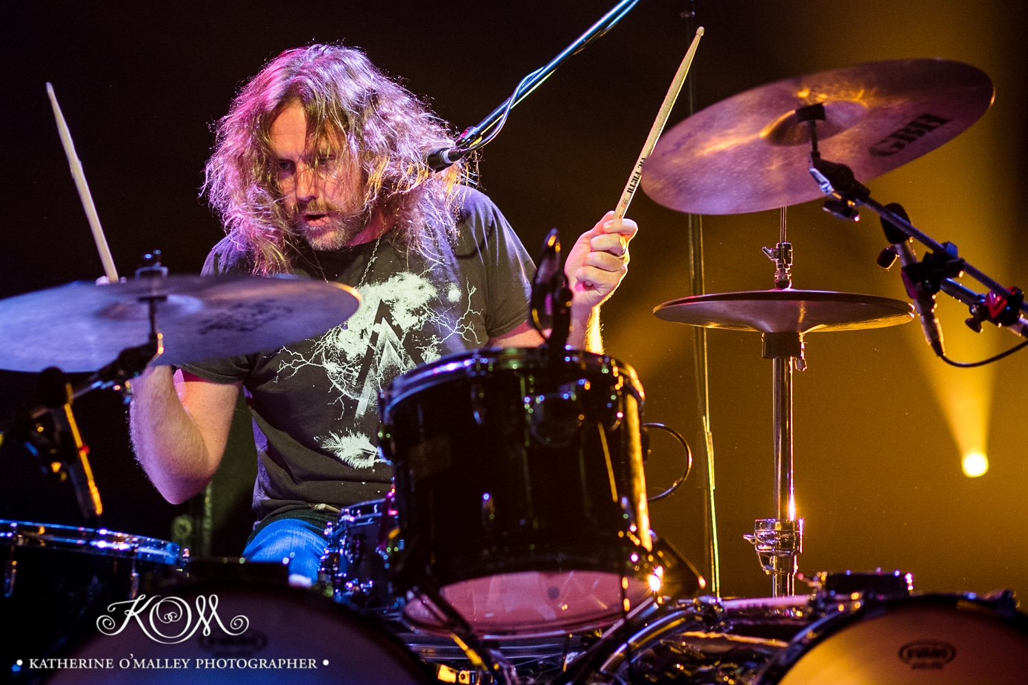 Mark Maher aka Kram/Spiderbait @ The Tivoli. © katherine o'malley, 2017