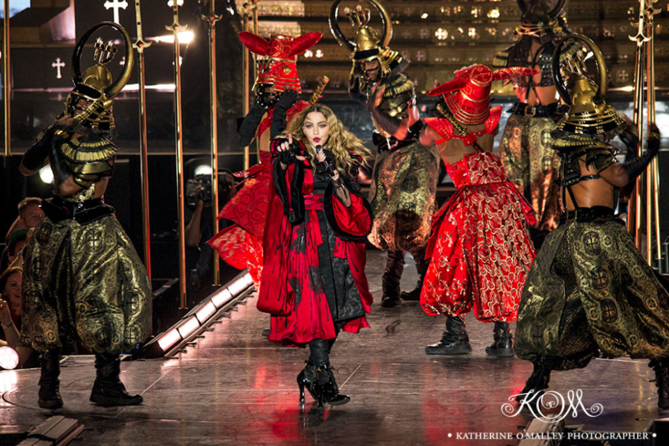 Madonna @ Brisbane entertainment Centre © katherine o'malley, 2016